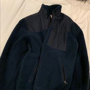 J Crew Sweater/Jacket Zip Up Blue Offers Accepted